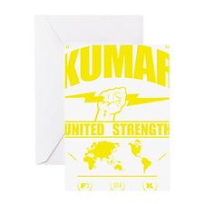 Kumar Lightning 3 Greeting Card
