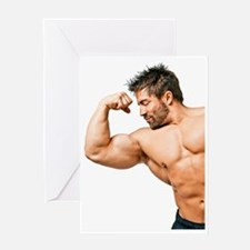Muscles Greeting Card