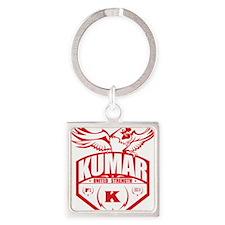 Kumar Fowlcocks 2 Square Keychain
