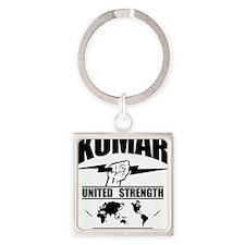 Kumar Lightning 3 Square Keychain