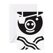 Pirate Piggy Greeting Card