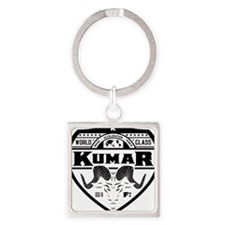 Kumar Ram Crest 2 Square Keychain