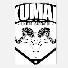 kumar Ram Crest 1 Postcards (Package of 8)