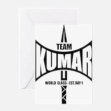 Kumar Axe 1 Greeting Card