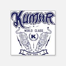 """Kumar Tigers 2 Square Sticker 3"""" x 3"""""""