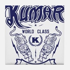 Kumar Tigers 2 Tile Coaster