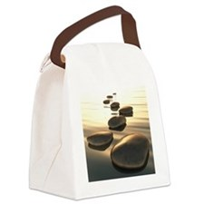 Step Stones Canvas Lunch Bag
