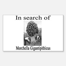 giant morel 1908 Rectangle Decal