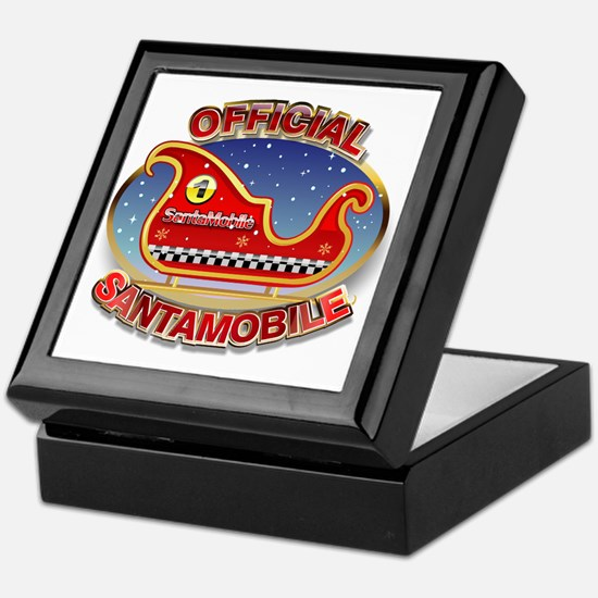 SantaMobile Keepsake Box