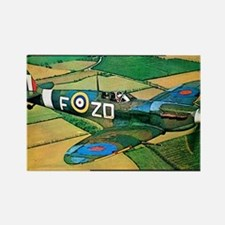 Spitfire - Trouble Brewing! Rectangle Magnet