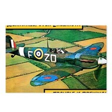 Spitfire - Trouble Brewin Postcards (Package of 8)