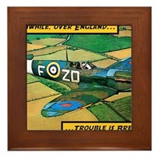 Spitfire - Trouble Brewing! Framed Tile