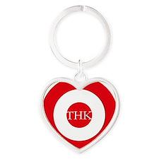 Turkish AF roundel e1 Heart Keychain