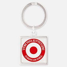 Turkish AF roundel e3 Square Keychain