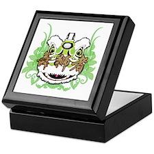 Hok San Lion Green Keepsake Box