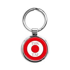 Turkish AF roundel e2 Round Keychain