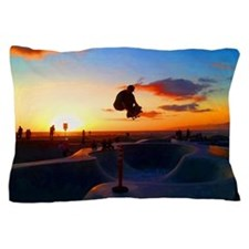 Skateboard Sunset Pillow Case