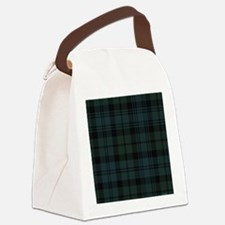 Campbell Scottish Tartan Plaid Canvas Lunch Bag