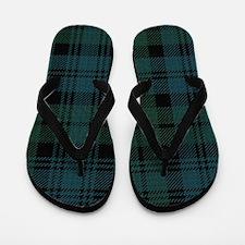 Campbell Scottish Tartan Plaid Flip Flops