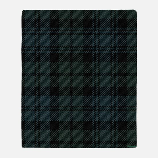 Campbell Scottish Tartan Plaid Throw Blanket