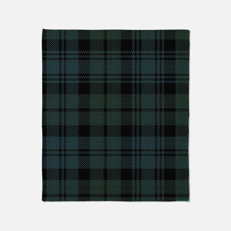 Campbell Scottish Tartan Plaid Throw Blanket
