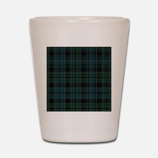 Campbell Scottish Tartan Plaid Shot Glass