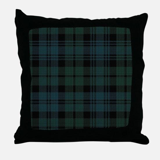 Campbell Scottish Tartan Plaid Throw Pillow