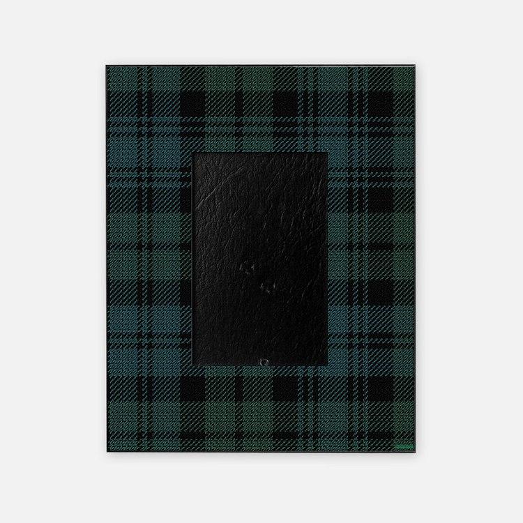 Campbell Scottish Tartan Plaid Picture Frame