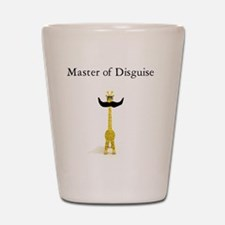 Master of Disguise Shot Glass