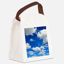 Cloudy Sky Canvas Lunch Bag