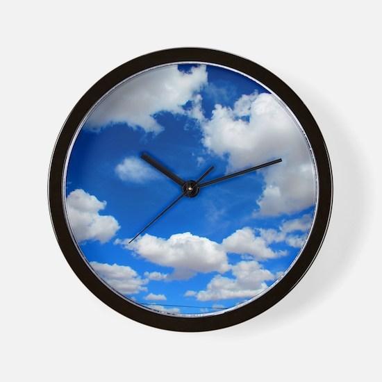 Cloudy Sky Wall Clock