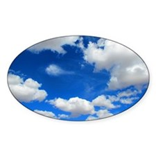Cloudy Sky Decal