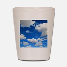 Cloudy Sky Shot Glass