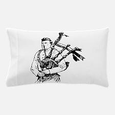 Bagpiper Pillow Case