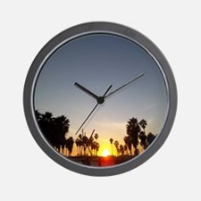 Venice Sunset Wall Clock