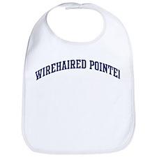 Wirehaired Pointer (blue) Bib