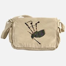 Bagpipes Messenger Bag