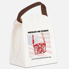 10x10 camera Canvas Lunch Bag