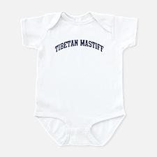 Tibetan Mastiff (blue) Infant Bodysuit