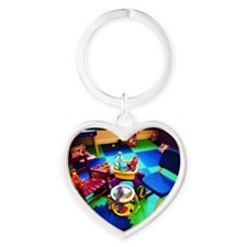 Worlds greatest #drumkit ? I think  Heart Keychain