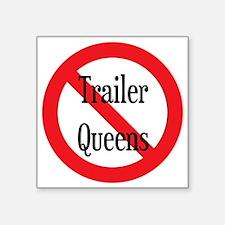 """Trailer Queen Square Sticker 3"""" x 3"""""""