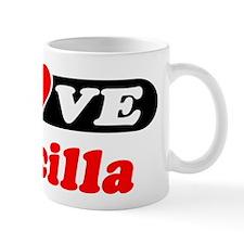 I Love Priscilla Mug