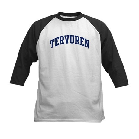Tervuren (blue) Kids Baseball Jersey
