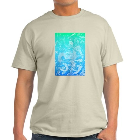 Underwater Light on Aqua Light T-Shirt