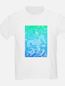 Underwater Light on Aqua T-Shirt
