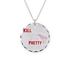 Guns Dont Kill People Necklace Circle Charm