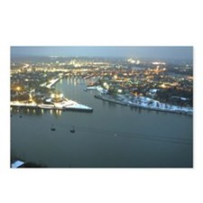 Rhine river & Mosel winte Postcards (Package of 8)