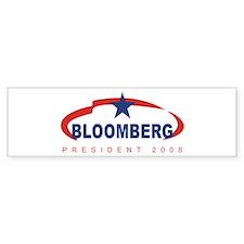 2008 Michael Bloomberg (star) Bumper Bumper Sticker