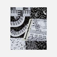 0562-ipadsleeve-clarinet Throw Blanket