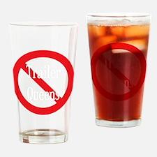 Trailer Queen Drinking Glass